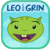 Leo con Grin logo